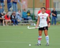 Hochschulfeld-Hockey - Damen Lizenzfreies Stockfoto