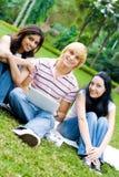 Hochschulfreunde Lizenzfreie Stockfotografie