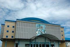 Hochschulgymnastikgebäude Stockfotos