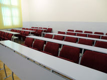 Hochschulklassenzimmer Stockfotos