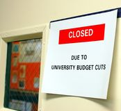 Hochschulschnitte Lizenzfreies Stockfoto