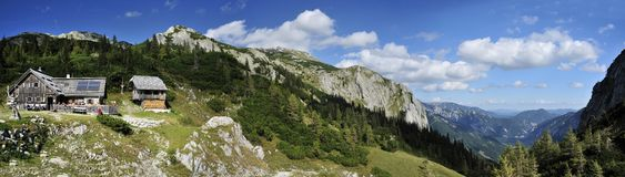 Hochschwab Mountains Royalty Free Stock Photography