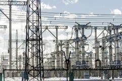 Hochspannung elektrisch lizenzfreie stockbilder