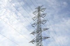 Hochspannung tower-4 lizenzfreies stockbild