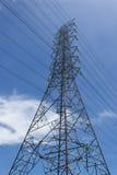 Hochspannungsdraht-Turm Lizenzfreie Stockbilder