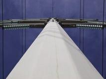 Hochspannungskontrollturm lizenzfreies stockfoto