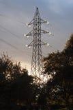 Hochspannungskontrollturm Stockbilder