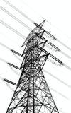 Hochspannungsleistung-Mast Lizenzfreies Stockbild