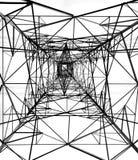 Hochspannungsleistung-Mast Lizenzfreie Stockbilder