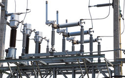 Hochspannungsschaltanlage der elektrischen Leistung lizenzfreie stockbilder