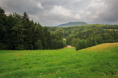Hochwald in saxony Royalty Free Stock Images