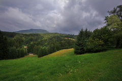 Hochwald in saxony Stock Photography