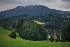 Hochwald w Saxony Zdjęcie Stock