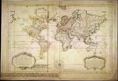 Hochwertige antike Karte Stockfoto
