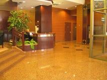 Hochwertige Eigentumswohnungvorhalle Stockbild