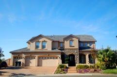 Hochwertiges Haus in Kalifornien Lizenzfreie Stockbilder