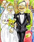 Hochzeit stock abbildung