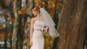 Hochzeit autmn Stockfotografie