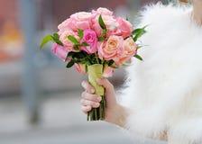 Hochzeit blüht Blumenstrauß Lizenzfreies Stockbild