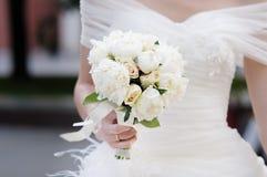 Hochzeit blüht Blumenstrauß stockfotos