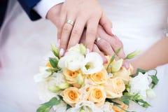 Hochzeit bouque Stockfoto