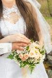 Hochzeit bouquet2014 Stockbild