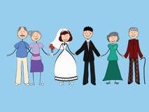 Hochzeit der Junge Stockbilder
