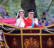 Hochzeit des Prinzen William und Catherine Stockfotografie