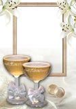 Hochzeit grüßen01 Lizenzfreie Stockfotos