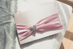 Hochzeit Guestbook Stockbild