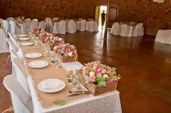 Hochzeit Hall Stockbilder