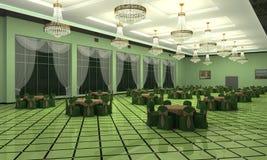 Hochzeit Hall Lizenzfreies Stockfoto