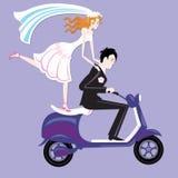 Hochzeit moto Lizenzfreie Stockfotografie