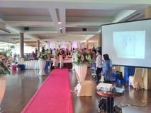Hochzeit reseption Lizenzfreie Stockbilder
