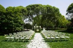 Hochzeit Szene im Freien Lizenzfreie Stockfotografie