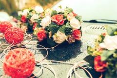 Hochzeit und Blume Stockfotografie