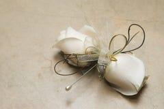 HochzeitCorsage Stockfoto