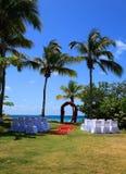 Hochzeiten an den Bluebeards Wyndham Resort Stockbilder