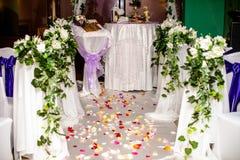 Hochzeits-Ausrichtung Stockfotografie