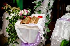 Hochzeits-Ausrichtung Lizenzfreies Stockfoto