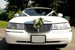 Hochzeits-Auto Lizenzfreie Stockbilder