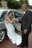 Hochzeits-Auto Lizenzfreies Stockbild