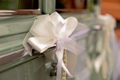 Hochzeits-Auto Lizenzfreie Stockfotos