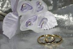 Hochzeits-Bänder Stockbild