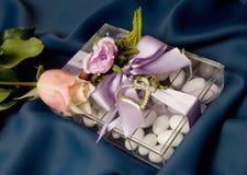 Hochzeits-Bevorzugung lizenzfreie stockfotografie