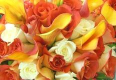 Hochzeits-Blumen Stockbilder