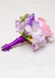 Hochzeits-Blumen-Vorbereitungen Stockbilder