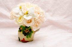 Hochzeits-Blumen-Vorbereitungen Stockfotografie