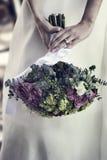 Hochzeits-Blumenstrauß Stockbilder