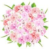 Hochzeits-Blumenstrauß stock abbildung